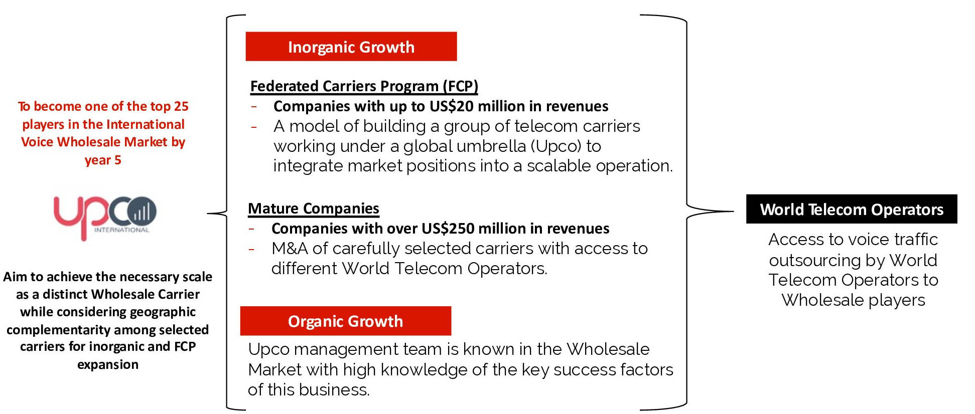 How? – The Upco Wholesale Telecom Strategy