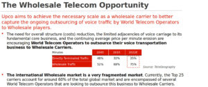 The Wholesale Telecom Opportunity