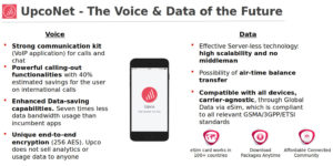 UpcoNet The Voice & Data of the Future
